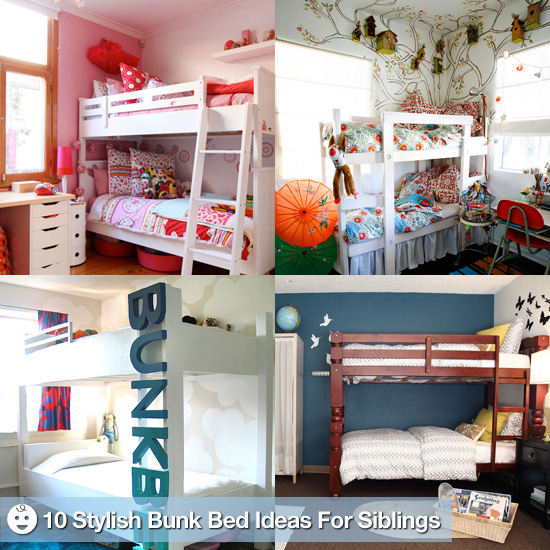 Bunking Up: 10 Stylish Bunk Bed Rooms to Inspire