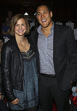 Libby Trickett and Geoff Huegill