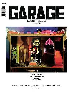 Dasha Zhukova's Garage Magazine Covers - The First Issue, Shot by Hedi Slimane