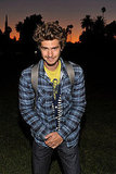 Andrew Garfield at Band of Outsiders event in LA.