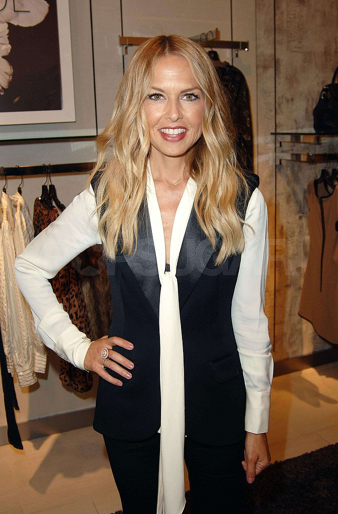 Rachel Zoe struck a pose at Neiman Marcus in Topanga Canyon.