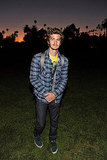Andrew Garfield at the Hollywood Forever cemetery.