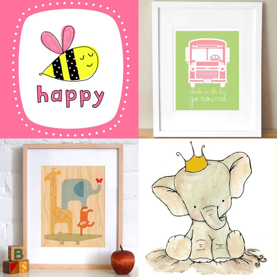 Pimp Your Crib: 10 Sweet Prints For the Nursery