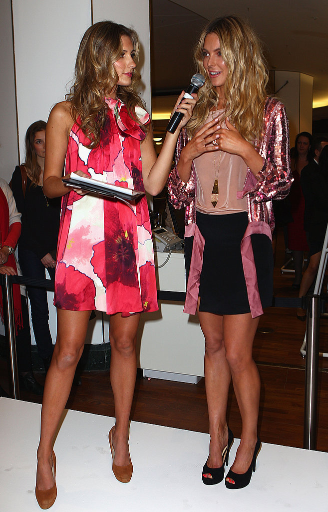 Laura Dundovic and Jennifer Hawkins