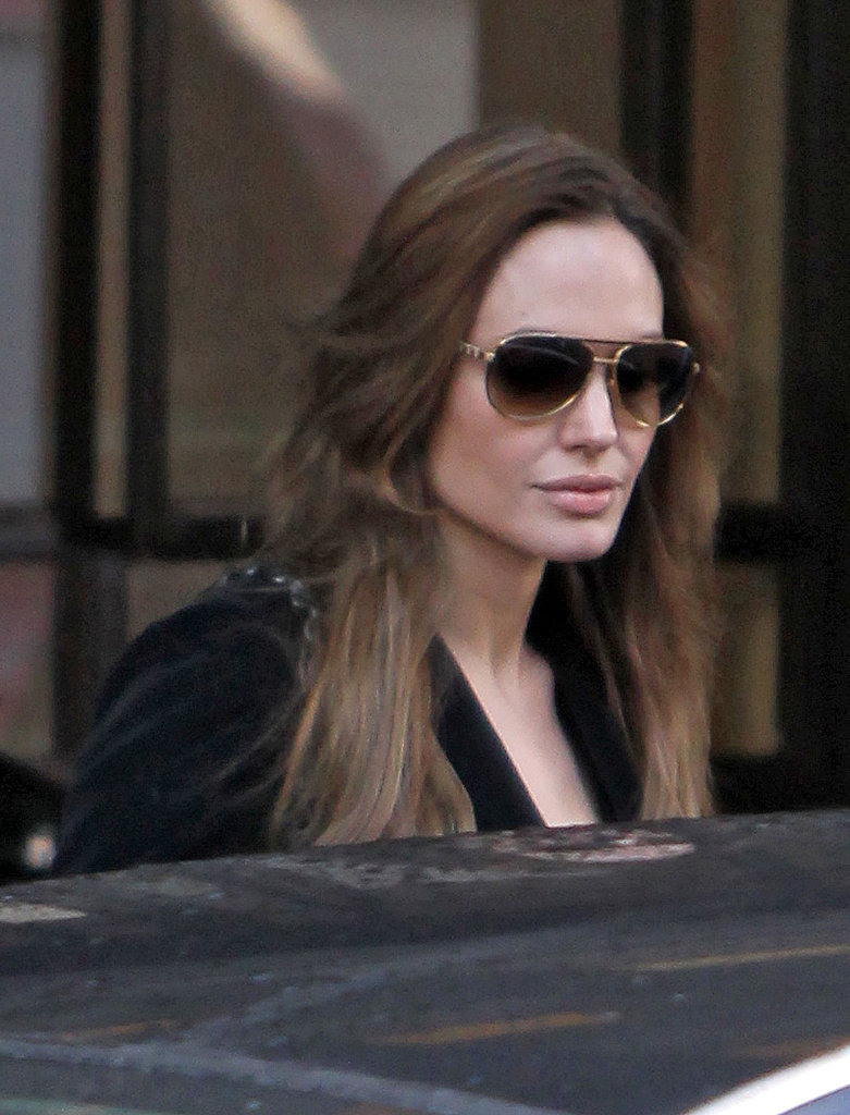 Angelina Jolie Visits London With a Friend Following a Trip to the Netherlands