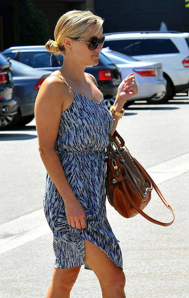 Reese Witherspoon leaves lunch in LA.
