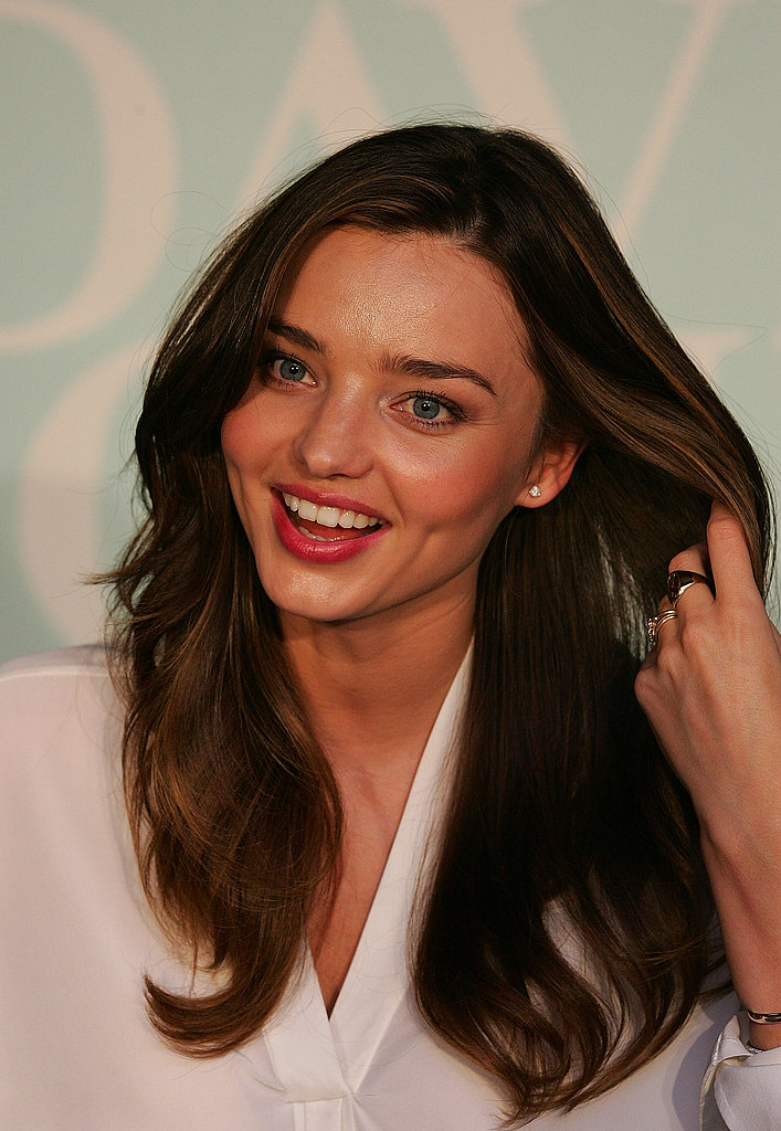 Miranda Kerr's skin was glowing.
