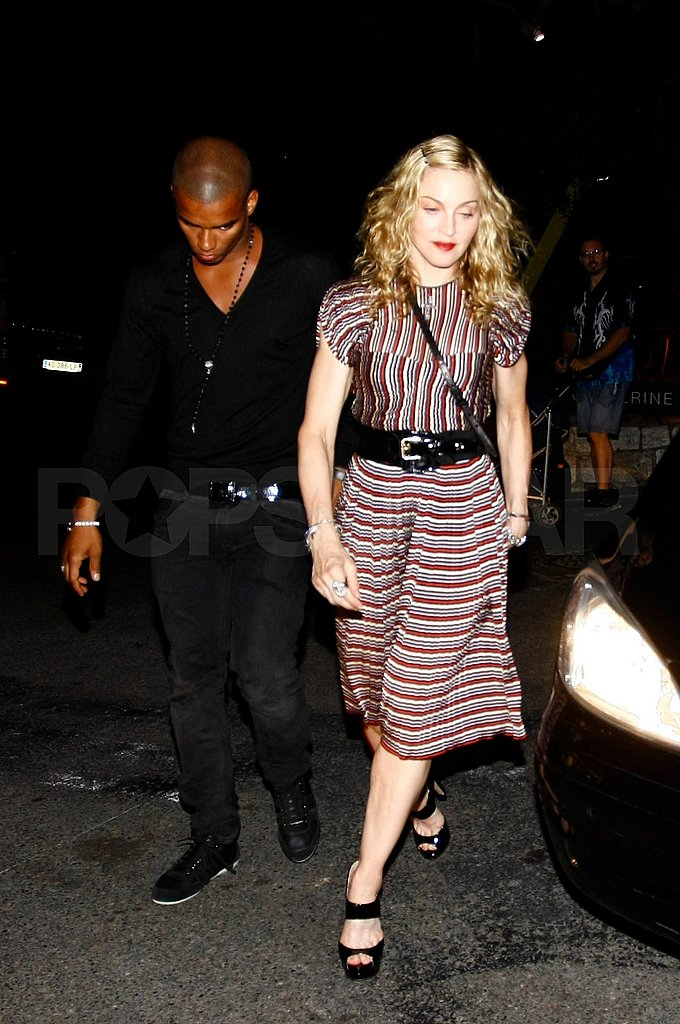 Madonna took Brahim out to dinner.