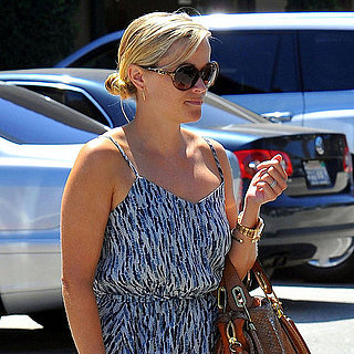 Reese Witherspoon Leaving Sugarfish Restaurant in LA