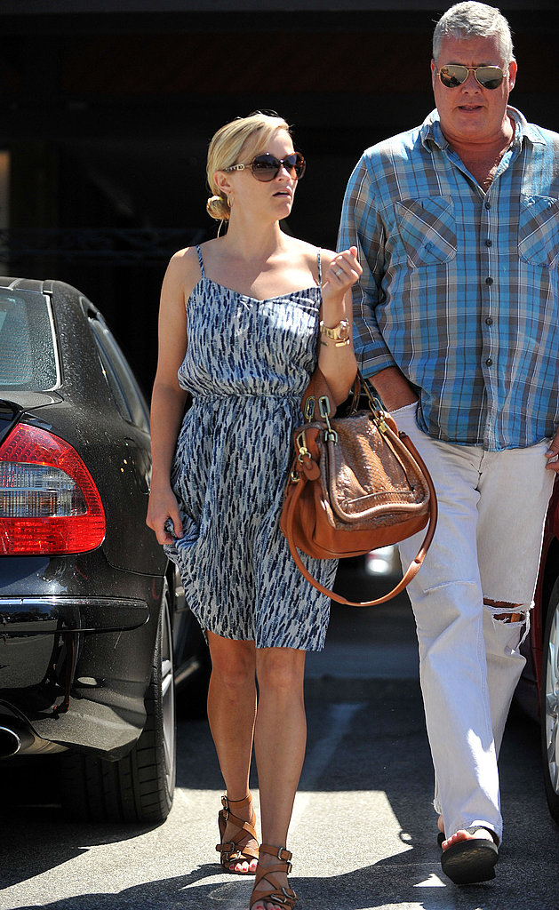 Reese Witherspoon with a friend in LA.