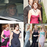 Princesses Beatrice and Eugenie Forgo Fascinators While Bride Petra Ecclestone Walks Down the Aisle in Vera Wang!