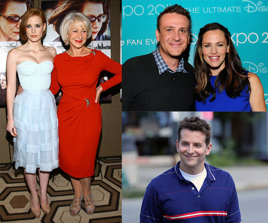 Celebrity Pictures of Jennifer Garner, Jason Segal, Bradley Cooper, Rihanna, Jessica Chastain