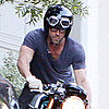 Ryan Reynolds Leaving Sandra Bullock's House Pictures