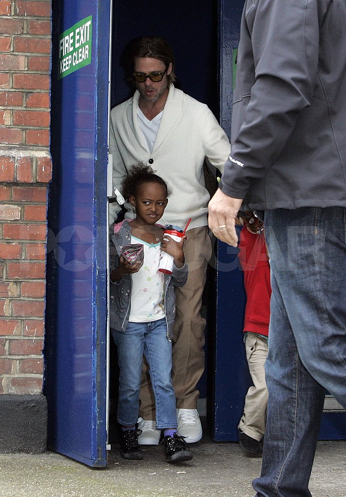 Zahara Jolie-Pitt in London.