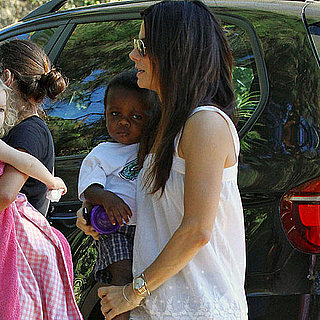 Sandra Bullock Pictures With Son Louis Bullock in LA