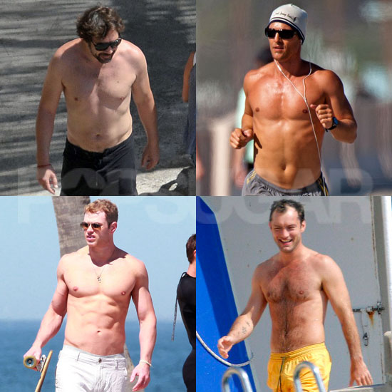 Help Matthew, Javier, Kellan, and More Hot Guys in the 2011 Shirtless Bracket!