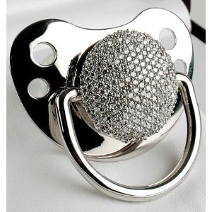 The Diamond Pacifier ($17,000)