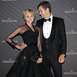 Joshua Jackson only had eyes for Diane Kruger at a dinner during the festival in 2008.