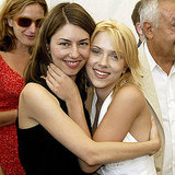 Sofia Coppola and Scarlett Johansson posed together at the 2003 Lost in Translation photocall.