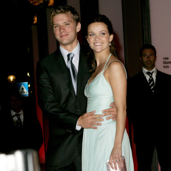 Ryan Phillippe stuck with Reese Witherspoon at the 2004 premiere of    Reese Witherspoon And Ryan Phillippe Kiss