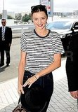 Miranda Kerr leaves Sydney.