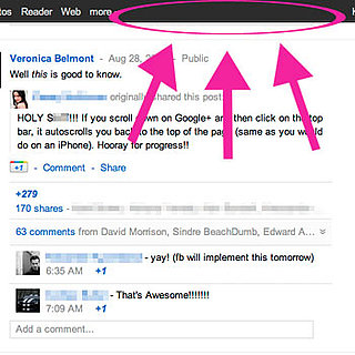 Google + Tips and Tricks