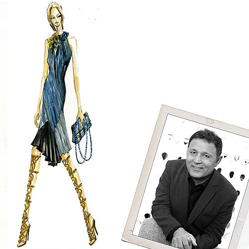 Elie Tahari Fashion Week Spring 2012 Interview