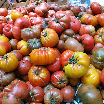 How to Prepare Heirloom Tomatoes