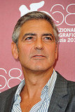 Director George Clooney at the Venice Film Festival.