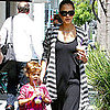 Jessica Alba and Honor Warren at Coffee Bean in LA Pictures