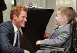 Prince Harry Stays Dry and Dapper For a Charitable Event in London