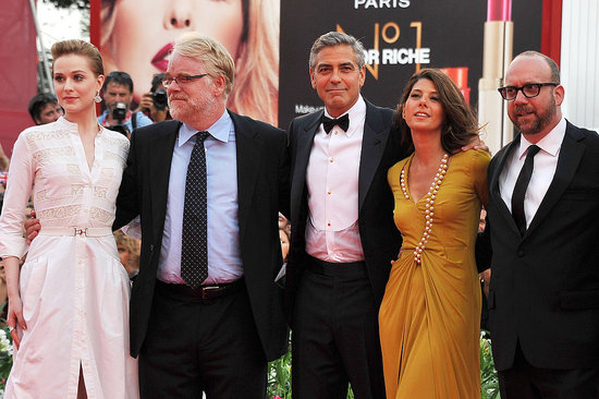 George Clooney Hits the Red Carpet in a Tux With His Glamorous Costars
