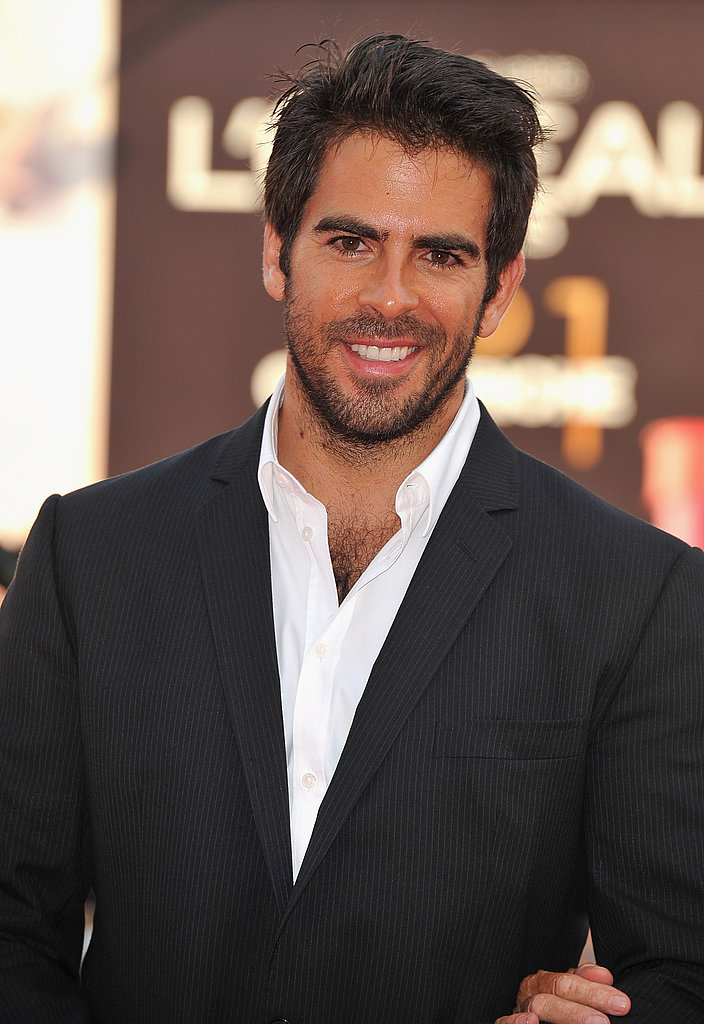 Eli Roth at The Ides of March premiere in Venice.