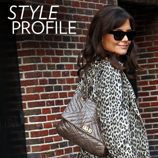 How Katie Holmes Executes Flawless Fall Style