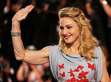 Madonna Goes Daring in Purple and Red as W.E. Takes Flight at the Venice Film Festival