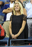 Brooklyn Decker cheered on her husband, Andy Roddick, at the US Open in NYC.