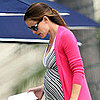Jennifer Garner Pregnant on the Beach Pictures