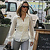 Pippa Middleton Wearing Jeans in London