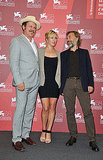 Kate Winslet, Christoph Waltz, and John C. Reilly at the Venice Film Festival.