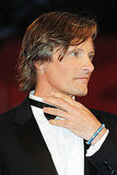 Viggo Mortensen on the Venice Film Festival red carpet.
