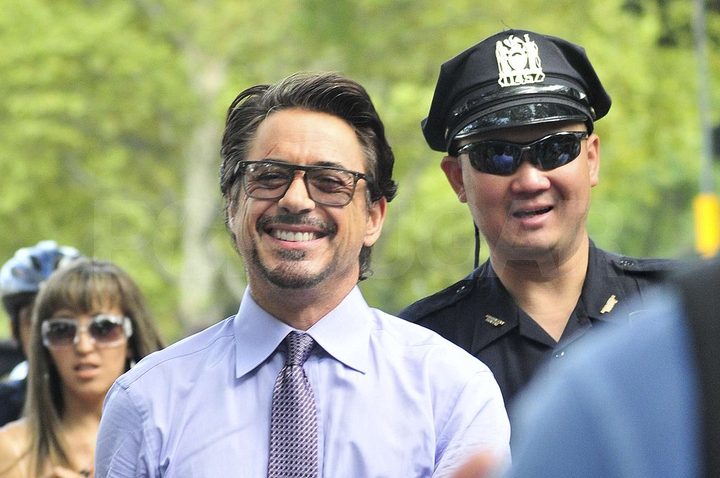 Robert Downey Jr. grinned.