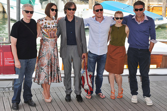Michael Fassbender and Keira Knightley Hit Venice With Viggo, Vincent, and David