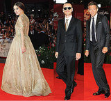 Golden Girl Keira Knightley Shares the Venice Red Carpet With Michael, Viggo, and Vincent