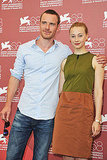 Michael Fassbender and Sarah Gadon at the Venice Film Festival.