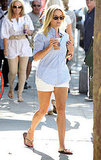 Reese Witherspoon gets coffee in LA.