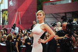 Kate Winslet on the red carpet in Venice.