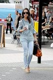 Pippa Middleton wears jeans.