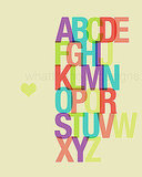 Printable ABC Love