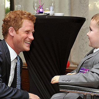 Prince Harry at Charity Event