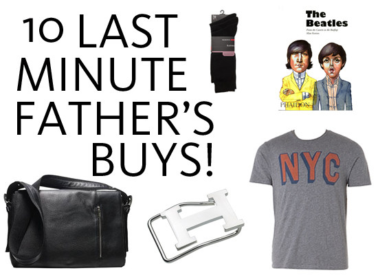 Last Minute Gifts for Father's Day From Country Road, Hermes, Witchery, David Jones, Myer & More!